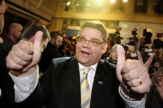 Líder de Los Verdaderos Finlandeses, Timo Soini. Fuente: Reuters.