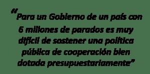 Los recortes en la cooperaci n internacional de espa a y for Politica exterior de espana