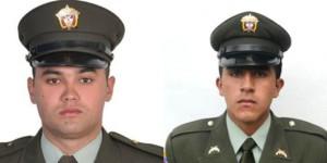 Victor González y Cristian Yate, policías secuestrados por las FARC en Pradera, Valle del CaucaFoto: Archivo El Tiempo