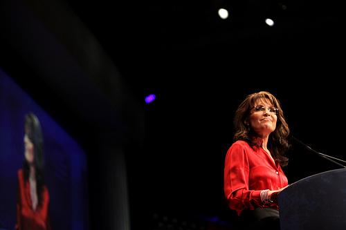 Sarah Palin. Fuente: Gage Skidmore