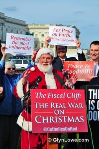 Manifestación contra el abismo fiscal. Fuente: Glyn Lowe Photoworks