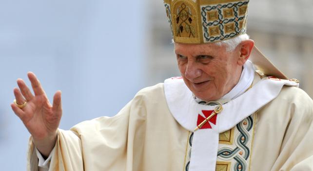 Benedicto XVI. Fuente: Fotopedia