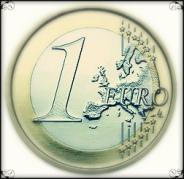Una moneda de un euro. Fuente: Christopher Lotito
