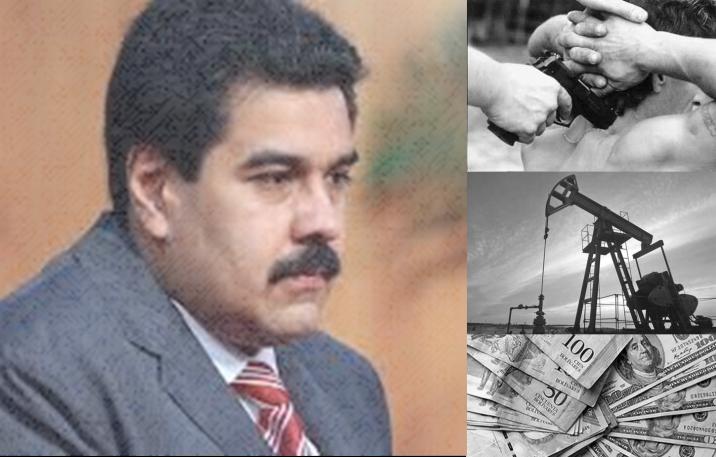 Inseguridad, inflación alta y dependencia económica en el petróleo, los desafíos de Maduro