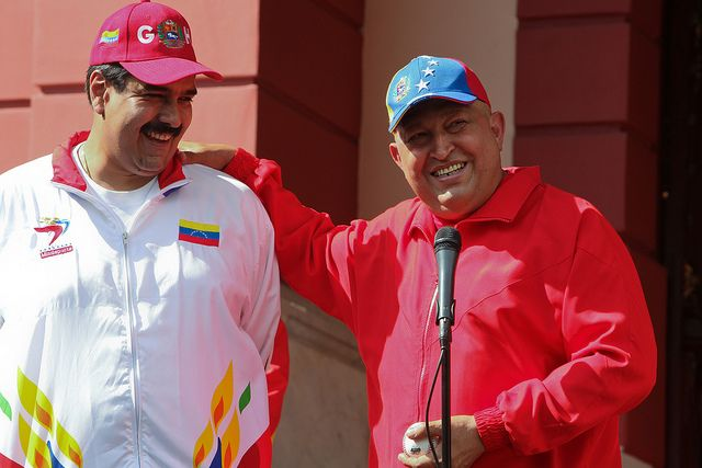 Chávez entregó el poder a Maduro y el pueblo obedeció.Fuente: juventud.psuv.org.ve