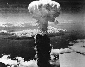 La explosión nuclear en Nagasaki, 1945.