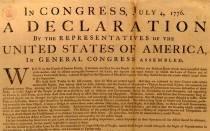 Declaración de independencia de Estados Unidos | Fuente: Halcones en la historia