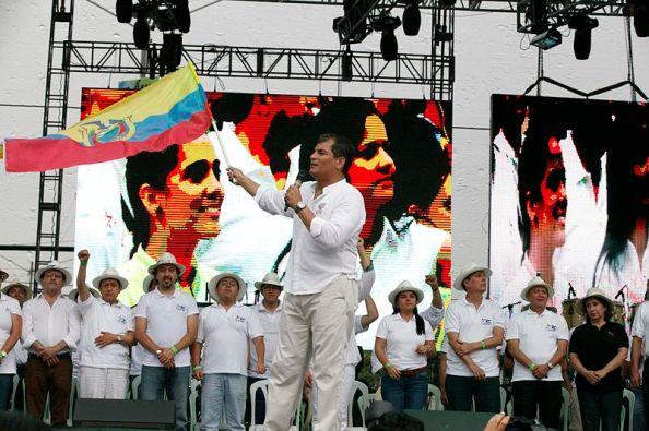 Celebración del 7.º aniversario de la Revolución Ciudadana en Guayaquil (2014)  | Fuente: Russavia