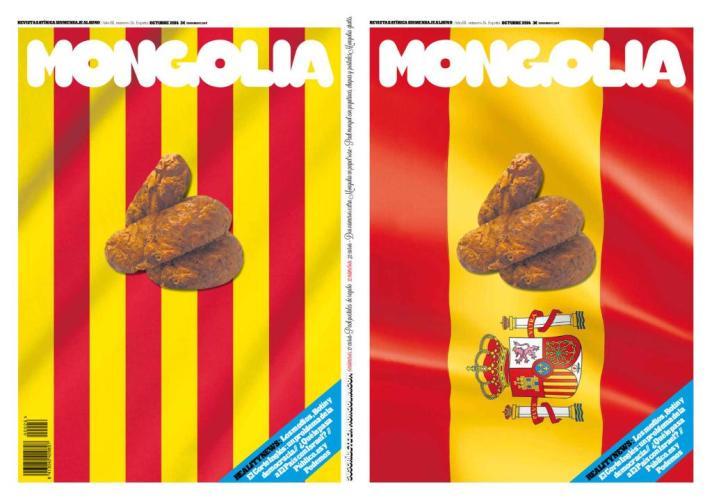portada mongolia banderas