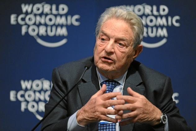 George Soros en el Foro Económico Mundial de Davos, en 2011 | Fuente: Michael Wuertenberg