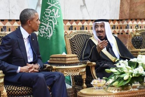 Estados Unidos y Arabia Saudí lideran el eje geoestratégico que trata de derribar al régimen laico sirio. Fuente: El Universal.