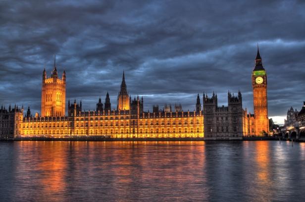 El palacio de Westminster, sede del parlamento británico. / Fuente: Maurice