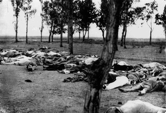 Armenios asesinados, una escena común en 1918 | Fuente: Henry Morgenthau