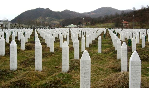 Memorial de la masacre de Srebrenica | Fuente: Michael Büker