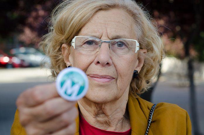 Manuela Carmena, alcaldesa de Madrid | Fuente: Ahora Madrid