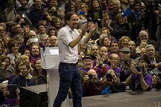 Las críticas de Pablo Iglesias (en imagen) a determinada prensa se granjean la respuesta unánime del gremio. Fuente: Alex Robles (Flickr.com)
